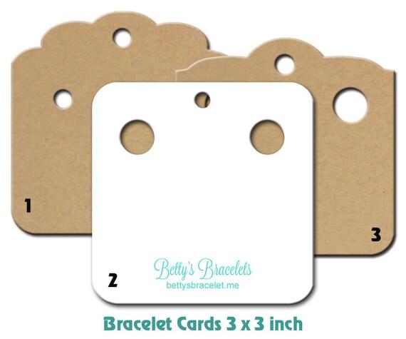 bracelet cards custom bracelet holders personalizes cards