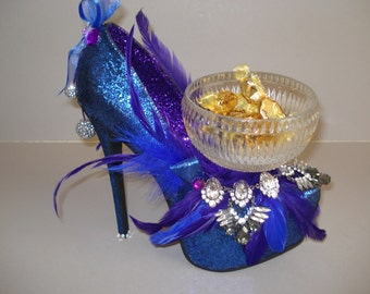 Gemstone High Heel Collection- Sapphire