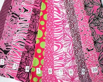 Pink Leopard, Flower or Zebra Infinity Scarves,Your Choice,Handcrafted Infinity Scarves,Pink Floral,Zebra Stripes, Checkerboard,Black
