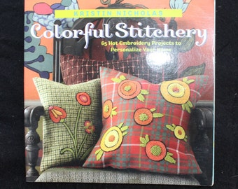 Colorful Stitchery 65 Embroidery Projects Book