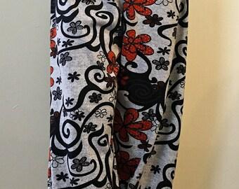 Floral Print Pants, Casual Pants, Flower Pants, Jogger Pants, Floral jogger pants, Floral Trousers, Floral Pants, Baggy Pants,oversize pants