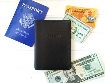 Coach Leather Passport Cover - Coach Wallet - Vintage Travel Wallet