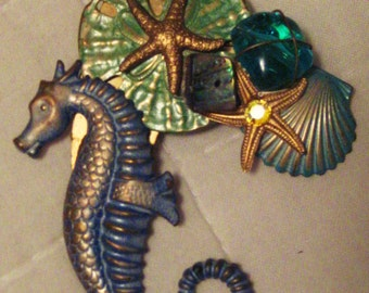 Sea Treasures Pin