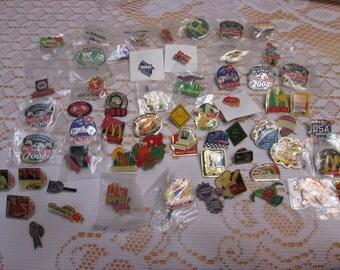 Mcdonald's Advertising Pin Collection