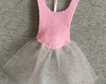 Ballerina Dress Christmas Ornament, Ballet, Tutu