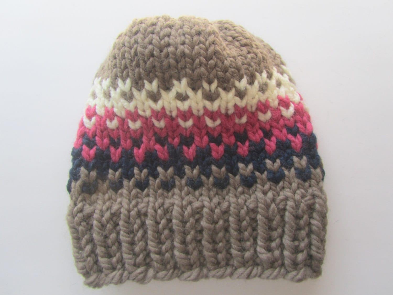 Fair Isle Knitting Hat : Fair isle knit hat women s