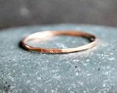 Stackable Rings Rose Gold