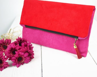 Valentines day gift | clutch purse in Color of Your Choice | Gift for Her