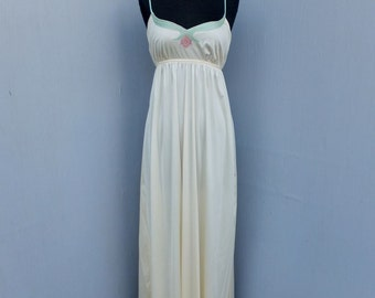 Vintage I. Magnin Bill Tice Nightgown, Long Nightgown