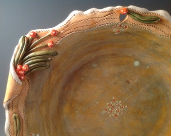 Large salad bowl/pasta bowl/salad bowl/pottery bowl/wedding gift/fruit bowl/bowl