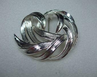 Vintage Silvertone Modern Brooch