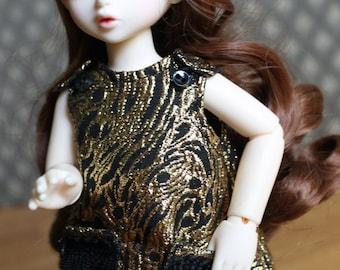 PDF PATTERN: Fringe Dress for YoSD BJDs