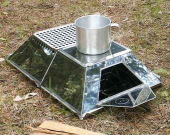 Camping Stove Pyromid Outdoor Cooking System Collapsible Portable Multifunctional Multifuel
