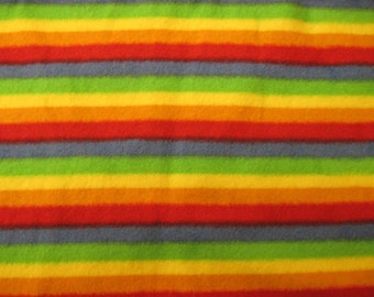 Rainbow flannel Northcott Zoology