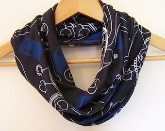 Doctor Who Tardis Infinity Scarf