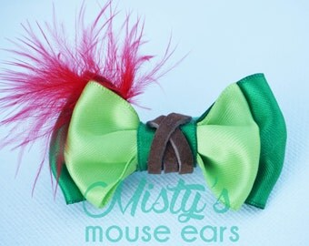 Inspired Peter Pan Slider Bow for the Magicband