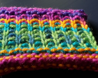 Double-sided Dish Scrubber Pattern