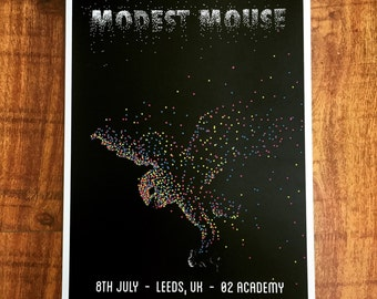 Modest Mouse - Prey Poster