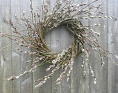 Wild Pussywillow Wreath