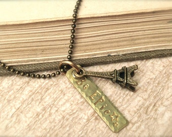 Be Epic Eiffel Tower Necklace