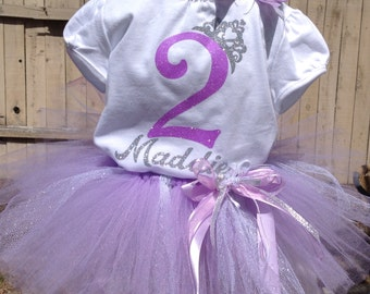 Princess Birthday, First Birthday Tutu Outfit,  First Birthday, 2nd Birthday, Minnie 1st Birthday, 3rd Birthday, 4th Birthday, 5th Birthday,