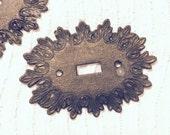 vintage light plate metal covers