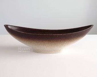 Howard Pierce Modern Canoe Console Bowl Planter California Pottery