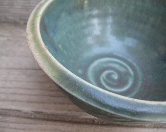 Salad Bowl, Cereal Bowl, Chili Bowl, Pasta Bowl, Serving Bowl, Hand Thrown Stoneware Pottery