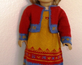 ANGIE'S PARTY Dolls Knitting pattern