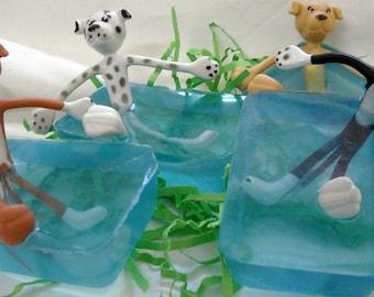 Dog Theme Soap