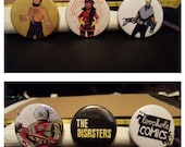 "6 1.5"" Comic Book Buttons// The Disasters"