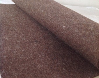 WOOL FELT - Brown (820) - 3mm thick