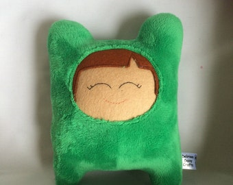 Green Cuddly Creature * Toy Bear * Plush * Plushies * Plush toy * Soft toy * Cute toy * Handmade Plush toy * New Baby Gift *