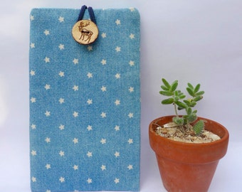Little Star in Blue , iPhone 6S Plus Padded Sleeve, Samsung Galaxy Note Case
