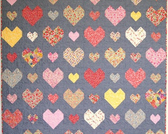 Kiss Chasey PDF Quilt pattern - Immediate Download