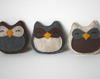Cat Toy- Adorable Owl Catnip Felt Cat Toy, cat toys, felt cat toy, felt owl, catnip toy, handmade cat toy, cat gift