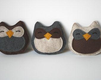 Cat Toy- Adorable Owl Catnip Felt Cat Toy, cat toys, felt cat toy, felt owl, catnip toy, handmade cat toy, cat gift,Halloween toy