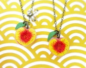 Friendship Peach Necklaces