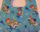 Baby Boys Toy Story Bib Blue Ready to Ship