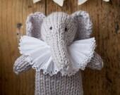 Enid Elephant knitting pattern