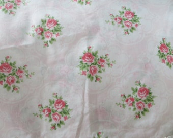 Cameo Rose Ruffled Pillowcase-Single