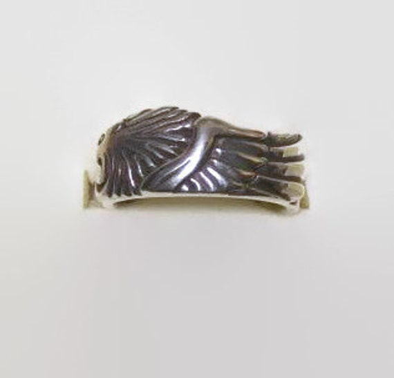 Sterling Silver Squall Leonhart ring from Final Fantasy 8