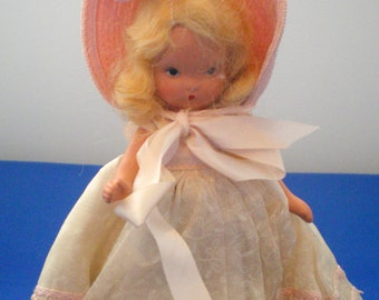 Vintage Story Book Doll**With Stand**