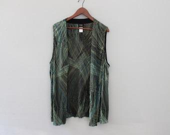 Vintage womens Vest by Teddi