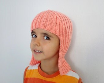 Peach tone Knit Wig Hat Hair For Halloween Accessory-Halloween Costume Ideas-night costumes