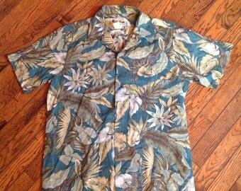 Vintage Howie Made in Hawaii Hawaiian Shirt Sz S