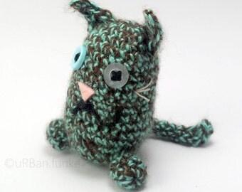 Stuffed Cat ~ Toy Cat ~ Crochet Amigurumi ~ Tiny Cat ~ Plushy Animals ~ Stuffed Animal ~ Gift for Boy or Girl FREE SHIPPING