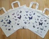Butterflies Fairy Wings Butterfly Art Tote Bag Beautiful Fantasy Girl Zindy Nielsen