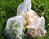 set of 3 Eco bags/net fruit and vegetable bags/large/medium/small