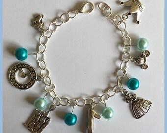 Cinderella fairytale Inspired charm bracelet